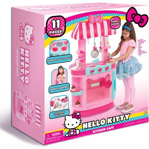Hello Kitty Wooden Kitchen Set: Sanrio Hello Kitty Kitchen Cafe Set 886144159961