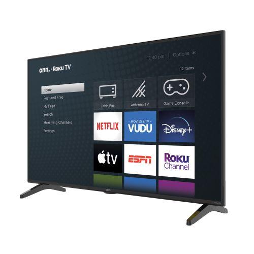 Onn 43″ Class 4K (2160P) Roku Smart LED TV (100012584)