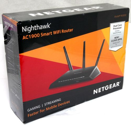Details about Netgear R6900 Nighthawk AC1900 Smart WiFi Router