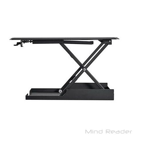 Mind Reader SDUPRIGHT-BLK Multipurpose Home Office