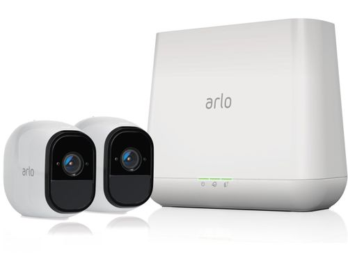 NETGEAR VMS4230-100PAS Arlo Pro Security System W/Siren, 2 Rechargeable