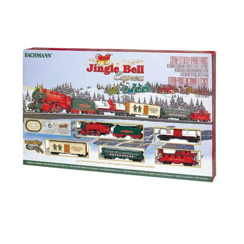 Bachmann Industries Trains Jingle Bell Express HO Scale Ready-to-Run Electric 22899007243   eBay