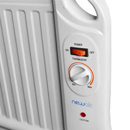 6c74a93ecf1 NewAir 400 Watt Electric Oil Filled Under Desk Portable Heater-AH ...
