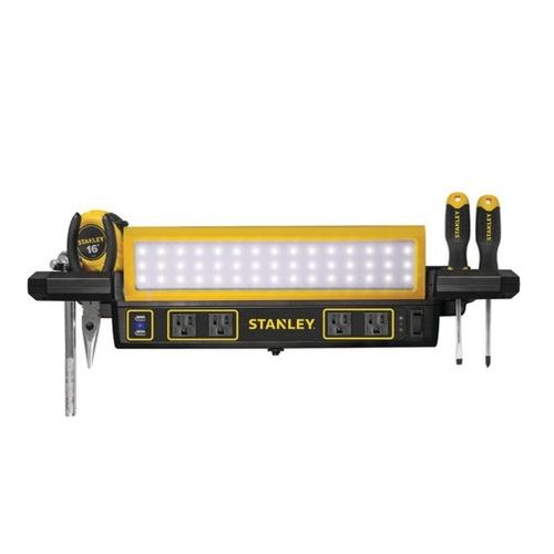 Super Details About Stanley Wlb40Ps Workbench Led Shop Light With Power Station Strip Alphanode Cool Chair Designs And Ideas Alphanodeonline