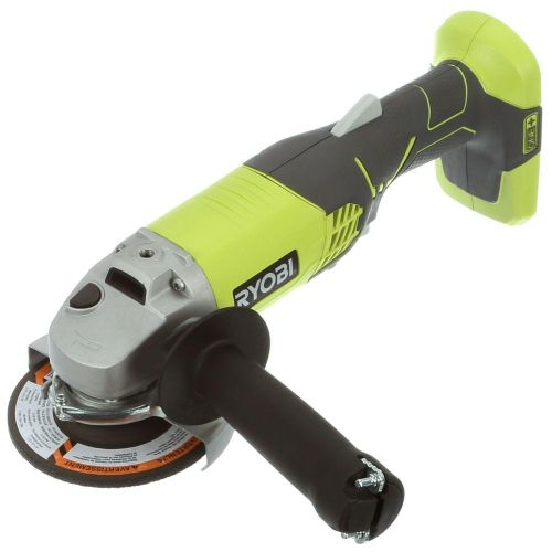 RYOBI Cordless 4.5 Inch Angle Grinder 18 Volt Grinding Wheel Power Tool Electric